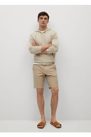 MANGO Men Bermudas - Chino Bermuda shorts