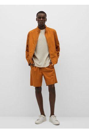 MANGO Men Jackets - Zipper cotton jacket