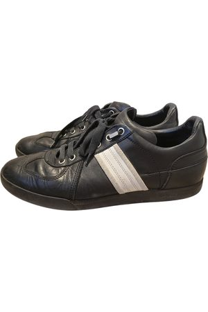 Dior B01 leather low trainers