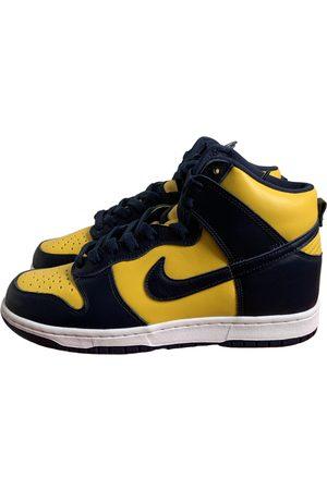 Nike SB Dunk leather high trainers