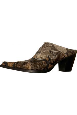 MARYAM NASSIR ZADEH Women Mules - Patent leather mules & clogs