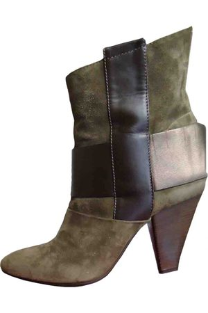 vic matiè Leather western boots