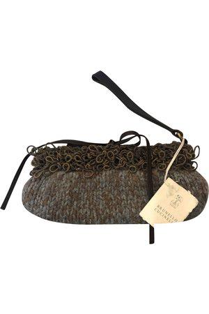 Brunello Cucinelli Wool clutch bag