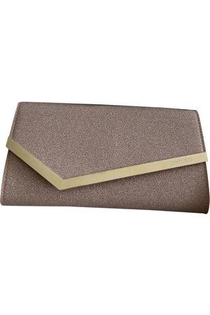 Jimmy Choo Glitter clutch bag