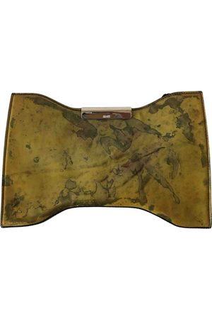 Alexander McQueen Patent leather clutch bag