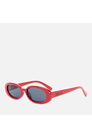 Le Specs Women's Special Oval Sunglasses