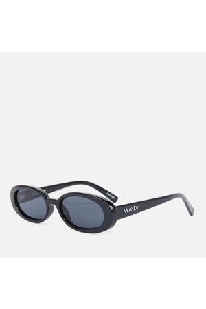 Le Specs Women's More Joy Oval Sunglasses