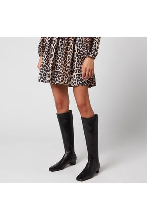 BY FAR Women's Edie Leather Knee High Boots