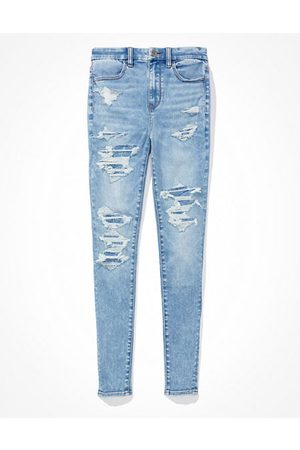 AE Forever Soft Patched Super High-Waisted Jegging Women's 2 Regular