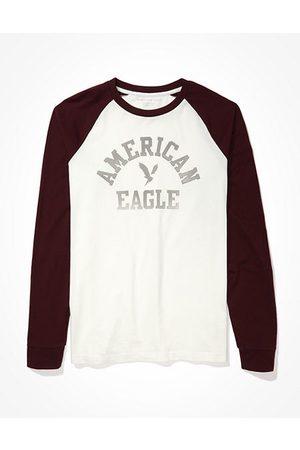 AE Super Soft Long-Sleeve Graphic T-Shirt Men's XS