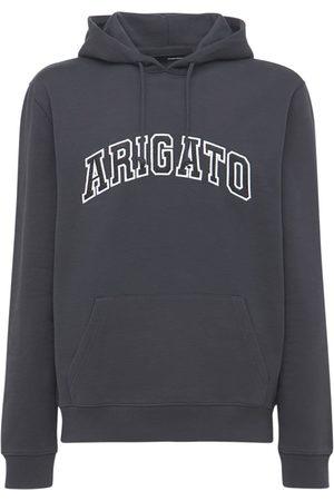 Axel Arigato College Logo Organic Cotton Hoodie