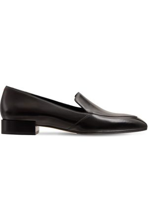 Aeyde Women Loafers - 20mm Angi Leather Loafers
