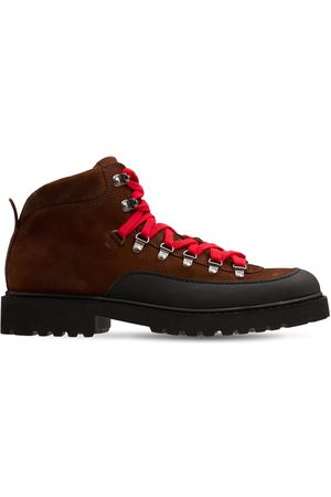 Doucal's Pedula Suede & Fabric Hiking Boots
