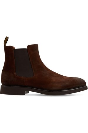 Doucal's Suede Chelsea Boots
