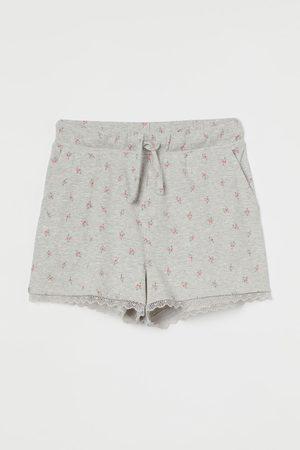 H&M Ribbed Jersey Shorts