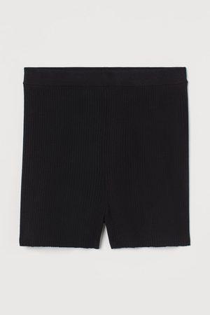 H&M Ribbed Biker Shorts