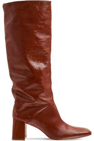 Miista 65mm Finola Patent & Leather Tall Boots