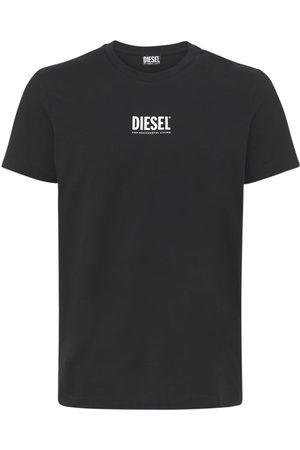 Diesel Logo Print Cotton Jersey T-shirt