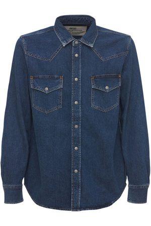 Diesel Western Cotton Denim Shirt