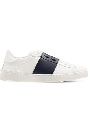 VALENTINO GARAVANI Open Color Block Leather Sneakers