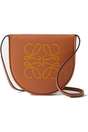 Loewe Women Shoulder Bags - Heel mini leather shoulder bag