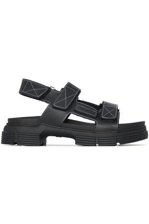 Ganni Tread sole slingback sandals