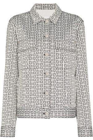 Givenchy 4G jacquard denim jacket