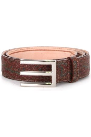 Etro Belts Men Cotone Paisley/jacquard