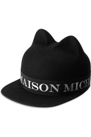 Le Mont St Michel Jamie logo-band felt cap
