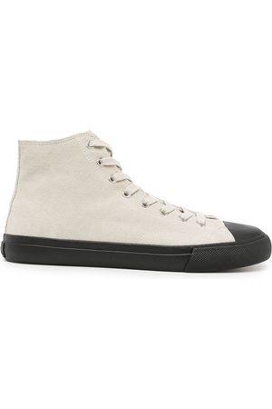 Paul Smith Men Sneakers - Carver high-top sneakers - Neutrals