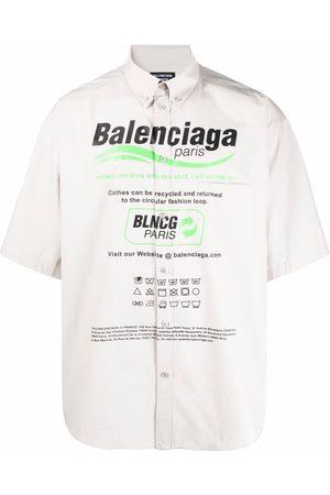 Balenciaga Dry Cleaning oversize shirt - Grey
