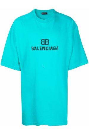 Balenciaga T-shirts - Logo crew-neck T-shirt