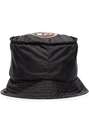 Fendi Women Hats - Wave monogram bucket hat