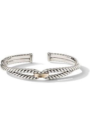 David Yurman Women Bracelets - Sterling and 18kt yellow gold 9mm Cable Loop bracelet