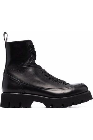 VERSACE Leonidas leather boots