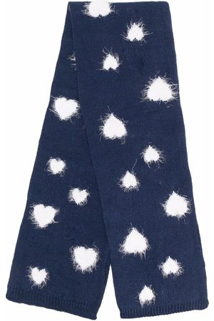 MONNALISA Heart-pattern scarf