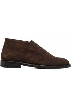 Paul Smith Men Ankle Boots - Suede-leather ankle boots
