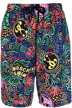 Moschino All-over print shorts
