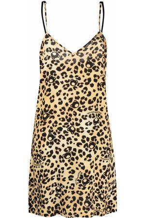 Moschino Women Nightdresses & Shirts - Teddy-print leopard nightdress - Neutrals