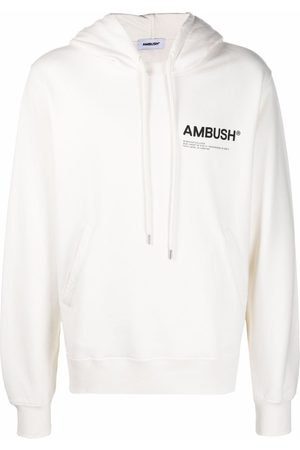AMBUSH Men Hoodies - FLEECE WORKSHOP HOODIE TOFU BLACK