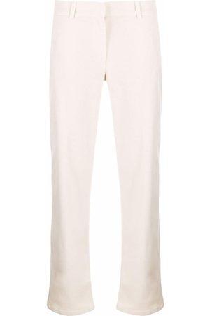 Fabiana Filippi Straight-leg cropped trousers - Neutrals