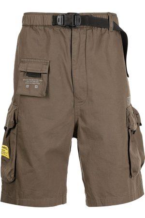 izzue Belt-waist cargo shorts