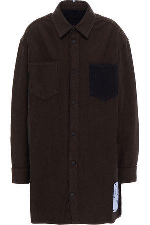 MCQ ALEXANDER MCQUEEN Woman Genesis Ii Denim Shirt Dark Size L