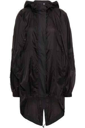 MCQ ALEXANDER MCQUEEN Woman Appliquéd Shell Hooded Parka Size L