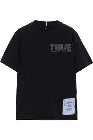 MCQ ALEXANDER MCQUEEN Woman Genesis Ii Printed Cotton-jersey T-shirt Size L