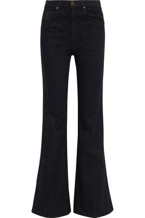 Khaite Woman Reece High-rise Flared Jeans Size 27