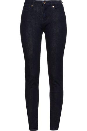 Love Moschino Woman Mid-rise Skinny Jeans Dark Denim Size 29