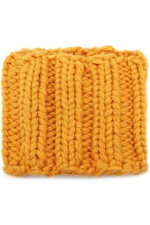 JW Anderson Rib-knit Wool Snood - Womens