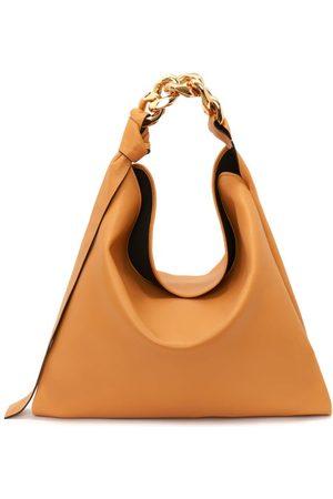 JW Anderson Women Purses - Medium Chain-strap Leather Shoulder Bag - Womens - Tan