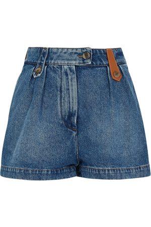 Loewe Blue denim shorts